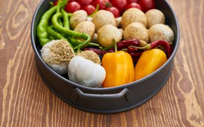 Manger sans gluten et végétarien
