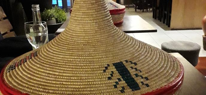 Les objets d'une table à l'éthiopienne
